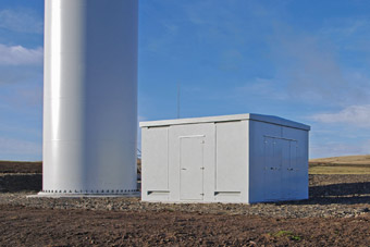 Grp Windfarm Substations Glass Reinforced Plastic